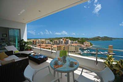 Elegant 2 Bedroom Villa in Cupecoy - Image 1 - Saint Martin-Sint Maarten - rentals