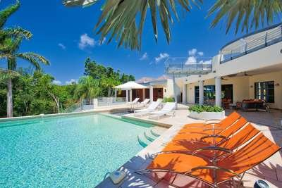 Unique 5 Bedroom Villa in Terres Basses - Image 1 - Saint Martin-Sint Maarten - rentals