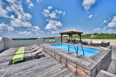 Contemporary 2 Bedroom Villa in Cupecoy - Image 1 - Saint Martin-Sint Maarten - rentals