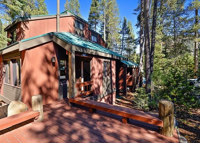 Front Deck - The Aspens at Squaw Valley - Conveniently Located Squaw Vacation Rental - Olympic Valley - rentals