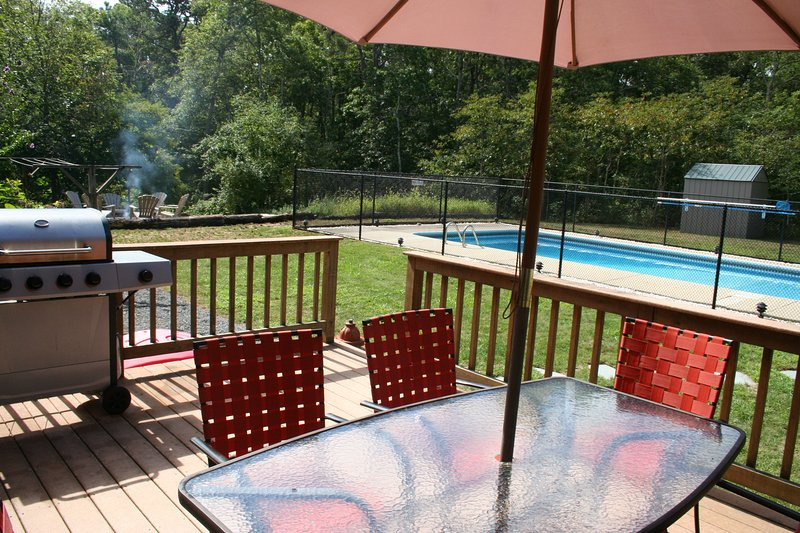 Secluded with Private Pool, Pets Considered -181-B - Image 1 - Brewster - rentals