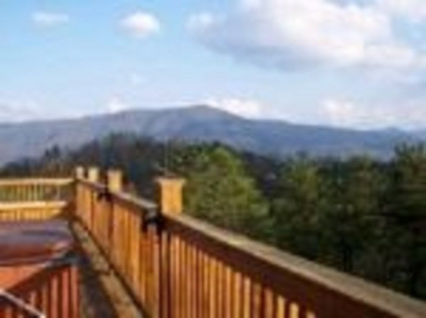 Cabin in the Smokies with Awesome View - Image 1 - Pigeon Forge - rentals