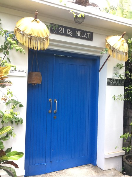 The Blue door to Mason satu - Mason Nine - Seminyak - rentals