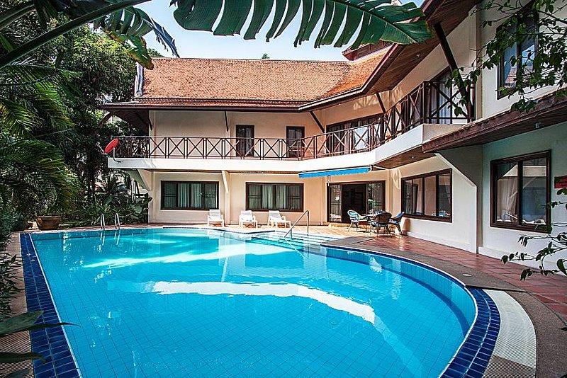 Baan Wat | 5 Bed Asian Style Villa with Private Pool in Naklua North Pattaya - Image 1 - Pattaya - rentals