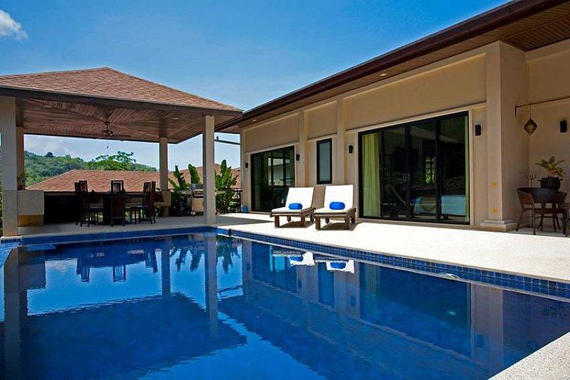 Phailin Talay | 4 Bed Serviced Pool Holiday Home Nai Harn South Phuket - Image 1 - Kata - rentals