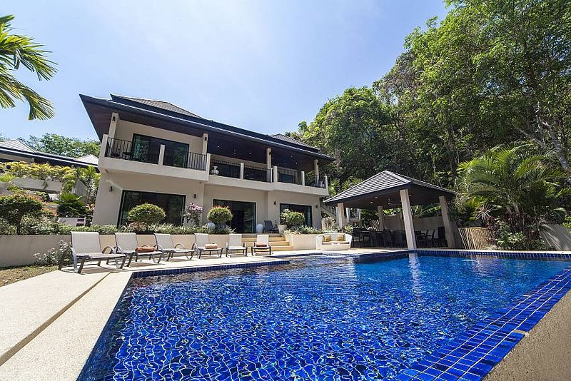 Contemporary style 6 bed pool villa - Image 1 - Kata - rentals