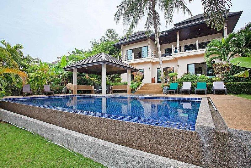 Morakot Villa | 6 Bed Modern Pool Villa Near Nai Harn Beach South Phuket - Image 1 - Kata - rentals