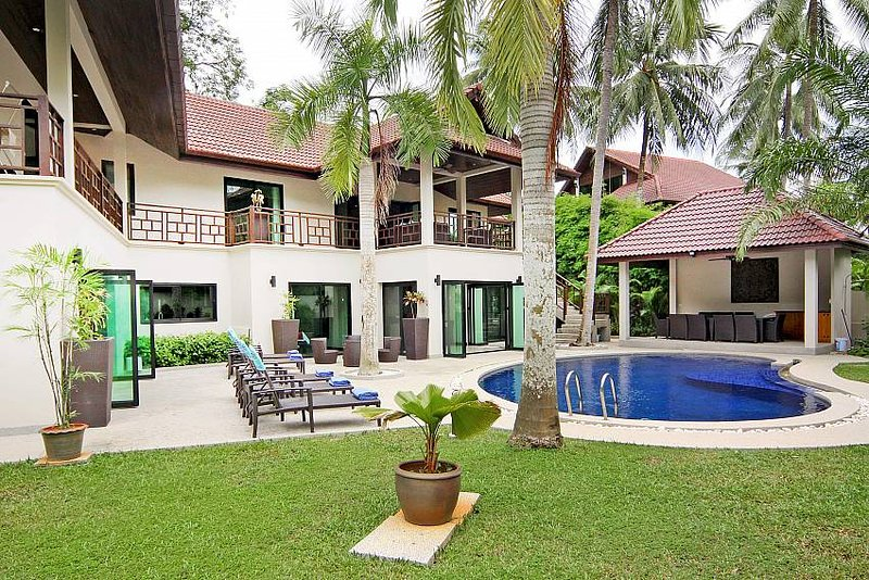 Narumon | 5 Bed Serviced Pool Villa Near Nai Harn Beach in South Phuket - Image 1 - Kata - rentals