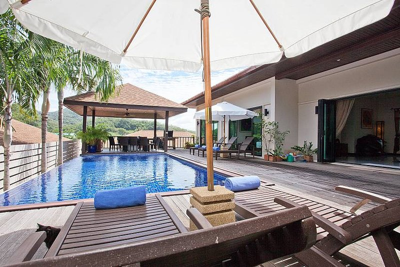 Ploi Jantra Villa | 5 Bed Large Serviced Holiday Home in Nai Harn Phuket - Image 1 - Kata - rentals