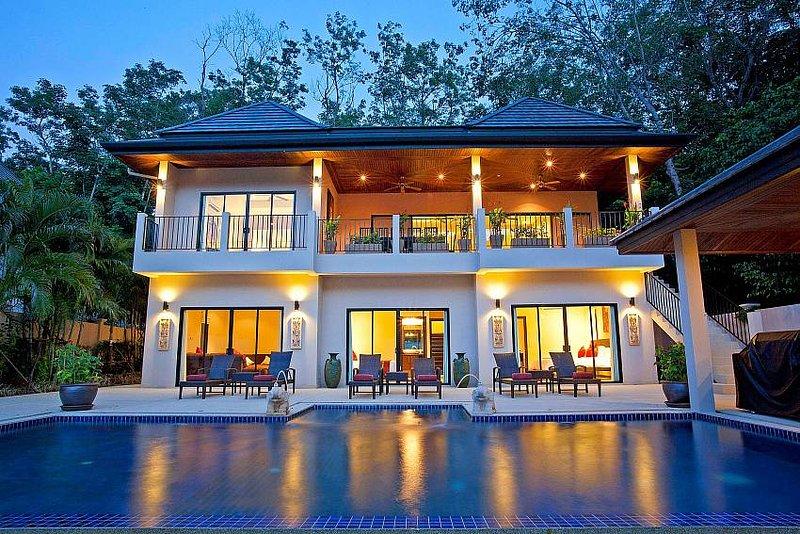 Pagarang Villa | 6 Bed Pool Property near Nai Harn Beach South Phuket - Image 1 - Kata - rentals