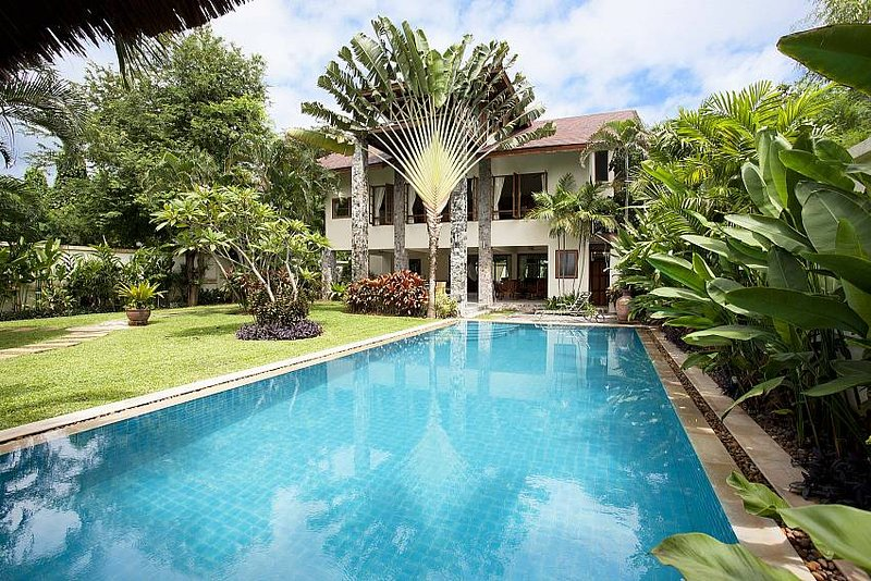 Baan Suan Far-Sai | 5 Bed Pool Villa near Beach at Pratumnak Hill Pattaya - Image 1 - Jomtien Beach - rentals