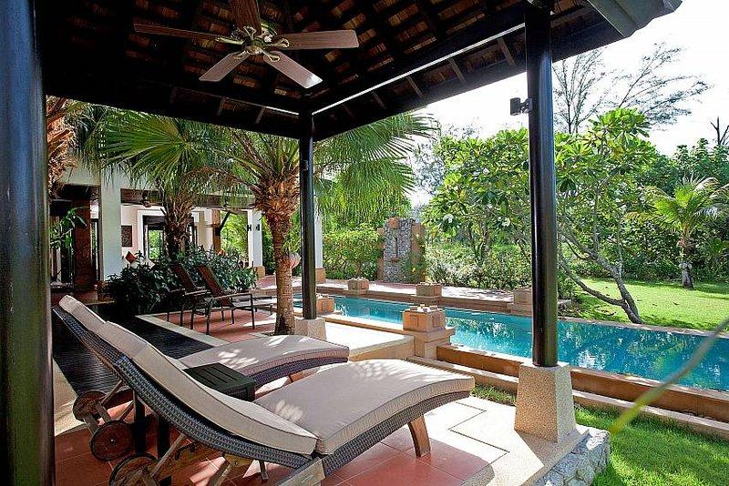 Chom Tawan |  4 Bed Pool Villa Near Layan Beach in Bang Tao Phuket - Image 1 - Bang Tao Beach - rentals