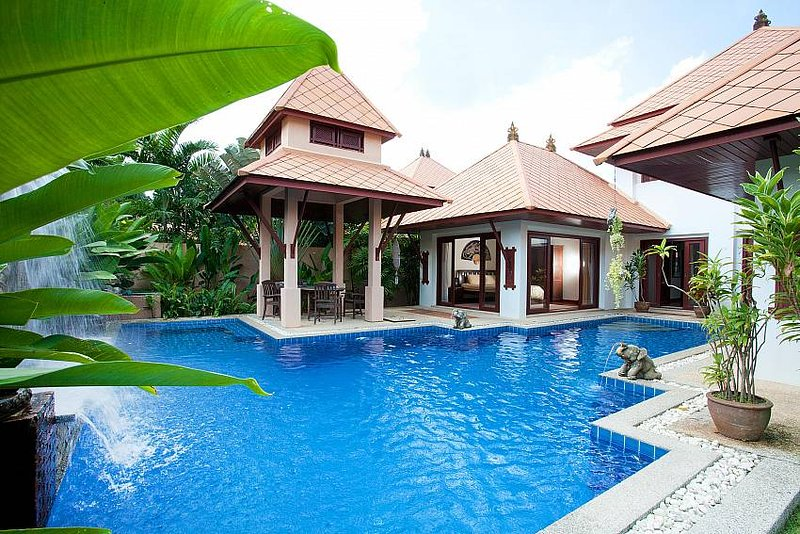 Villa Fantasea   4 Bed Pool Rental with Resort Facilities in Kamala  Phuket - Image 1 - Kamala Beach - rentals