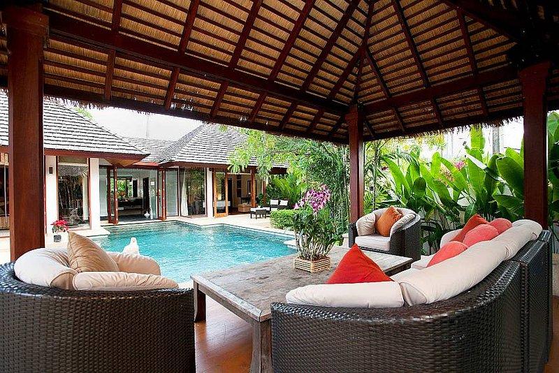 Cool Bali villa 700m to Bang Tao beach - Image 1 - Thalang - rentals