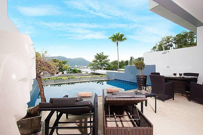 Seductive Sunset Villa Patong A1 | 3 Bed Sea View Pool House in Phuket - Image 1 - Patong Beach - rentals