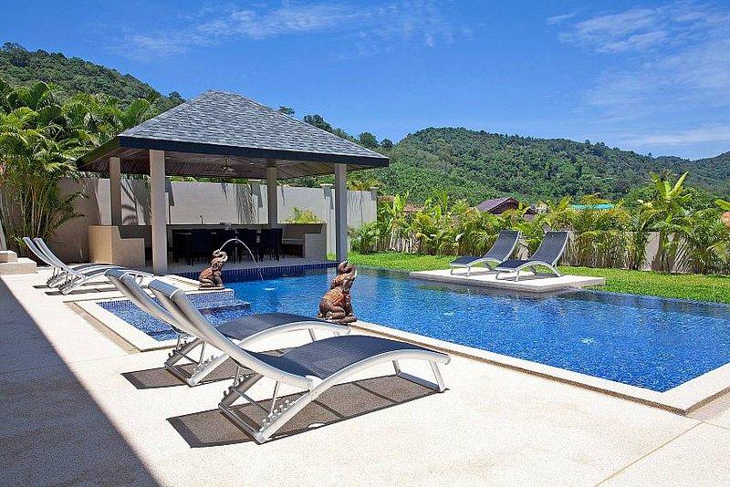 Villa Ampai   6 Bed Spacious Serviced Pool Villa in Hai Harn Phuket - Image 1 - Kata - rentals