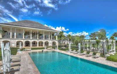 Radiant 9 Bedroom Villa in Arrecife - Image 1 - Punta Cana - rentals