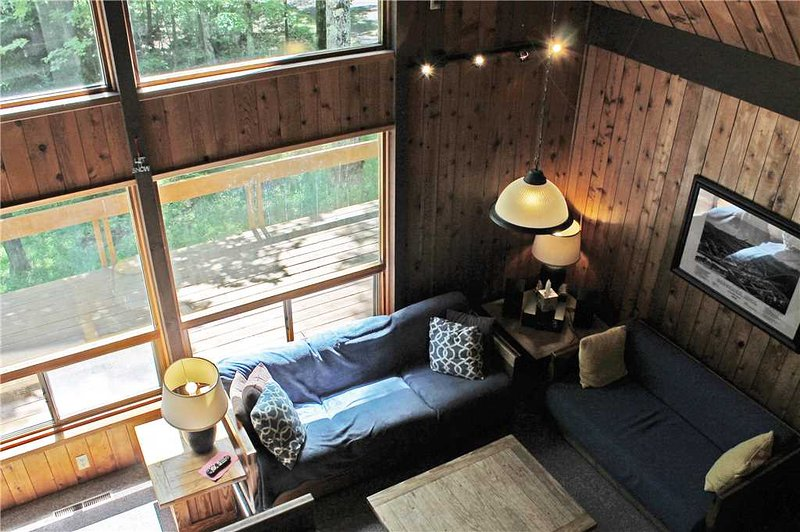 Located at Base of Powderhorn Mtn in the Western Upper Peninsula, Cozy Home in Quiet Wooded Setting with Large Living Room & Brick Fireplace - Image 1 - Bessemer - rentals