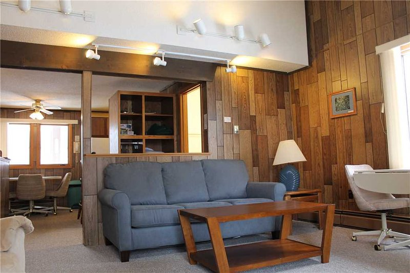 Located at Base of Powderhorn Mtn in the Western Upper Peninsula, A Comfortable Trailside Condo with a Shared Hot Tub & Allows Dogs - Image 1 - Bessemer - rentals