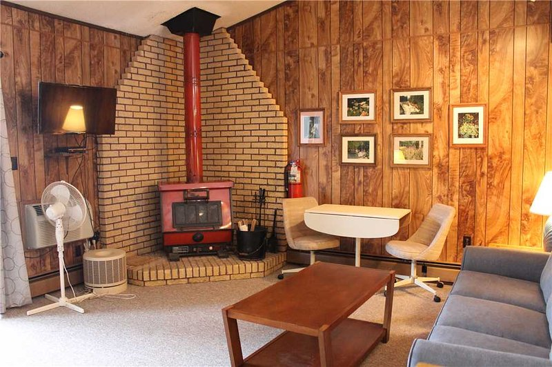 Located at Base of Powderhorn Mtn in the Western Upper Peninsula, A Cozy Trailside Condo with a Shared Hot Tub & Allows Dogs - Image 1 - Bessemer - rentals