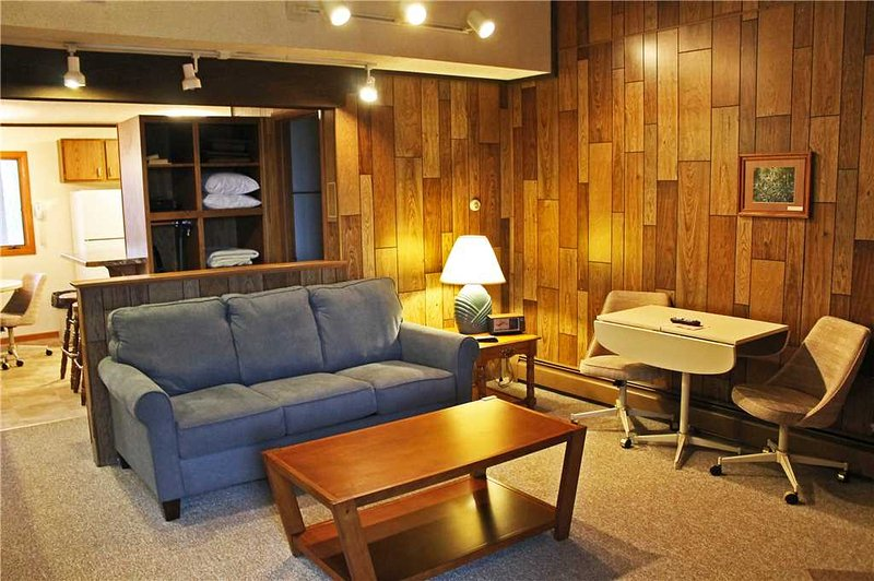 Located at Base of Powderhorn Mtn in the Western Upper Peninsula, A Quiet Trailside Condo with a Shared Hot Tub & Allows Dogs - Image 1 - Bessemer - rentals