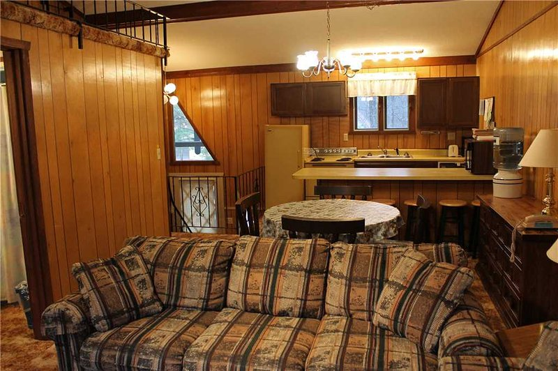 Located at Base of Powderhorn Mtn in the Western Upper Peninsula, A Condo-Style Home 1 block from Main Ski Lodge, Dated but Comfortable - Image 1 - Ironwood - rentals