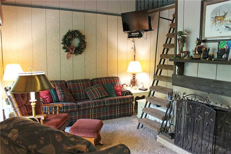 Located at Base of Powderhorn Mtn in the Western Upper Peninsula, A Duplex 1-Block from the Main Ski Lodge with Cozy Furnishings & Allows Dogs - Image 1 - Ironwood - rentals