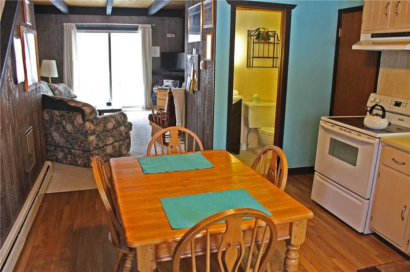 Located at Base of Powderhorn Mtn in the Western Upper Peninsula, A Quaint Duplex with Shared Outdoor Hot Tub Located 1 Block from Main Ski Lodge - Image 1 - Ironwood - rentals