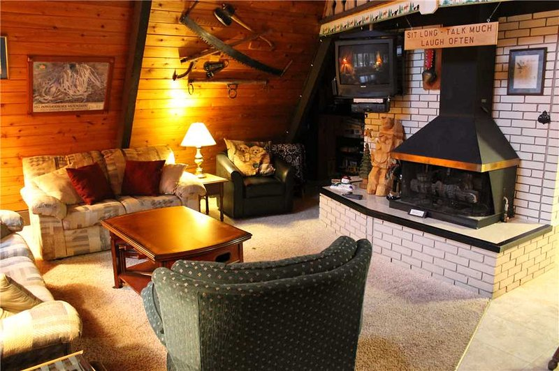 Located at Base of Powderhorn Mtn in the Western Upper Peninsula, A Comfy Home with Outdoor Hot Tub, 1 Block from Main Ski Lodge - Image 1 - Ironwood - rentals