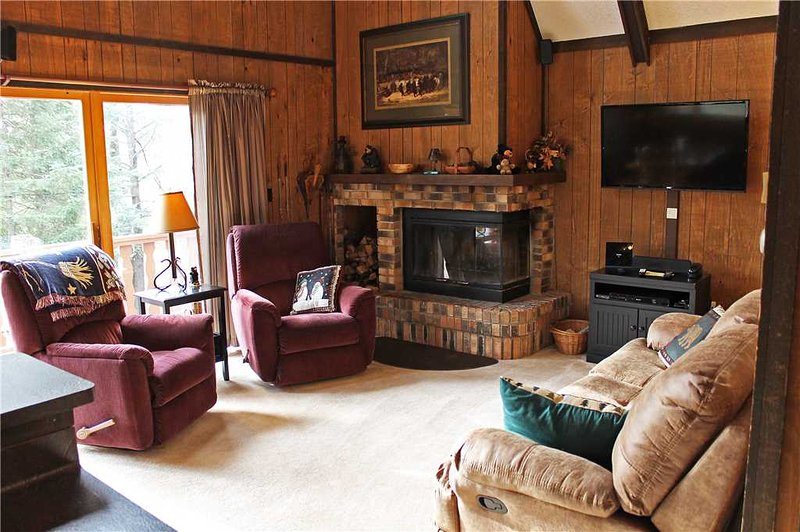 Located at Base of Powderhorn Mtn in the Western Upper Peninsula, Intimate & Cozy Home in Wooded Setting with Outdoor Hot Tub - Image 1 - Ironwood - rentals