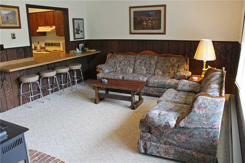 Located at Base of Powderhorn Mtn in the Western Upper Peninsula, Duplex Home with Large Indoor Hot Tub Located 1.5 Blocks from Main Ski Lodge - Image 1 - Ironwood - rentals
