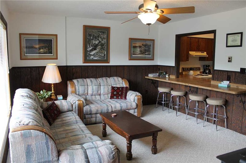 Located at Base of Powderhorn Mtn in the Western Upper Peninsula, A Cozy Duplex Home Located 1.5 Blocks from Main Ski Lodge with Large Indoor Hot Tub - Image 1 - Ironwood - rentals