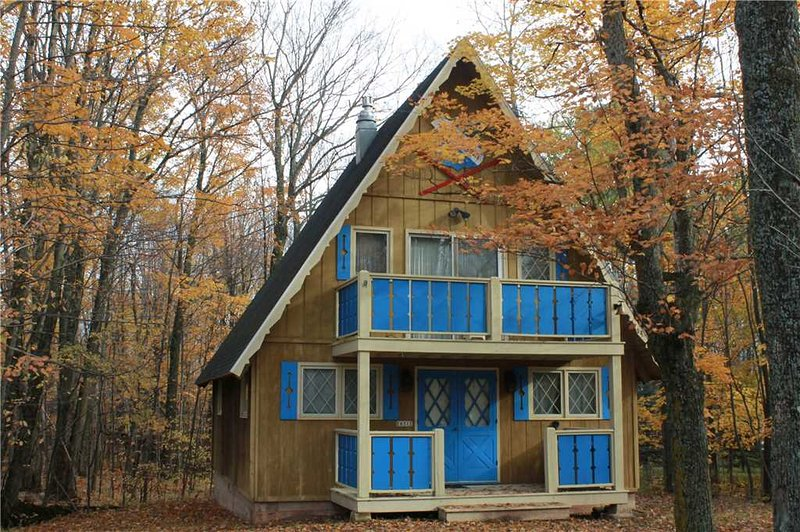 Located at Base of Powderhorn Mtn in the Western Upper Peninsula, A Charming Home in a Wooded Setting - Image 1 - Ironwood - rentals