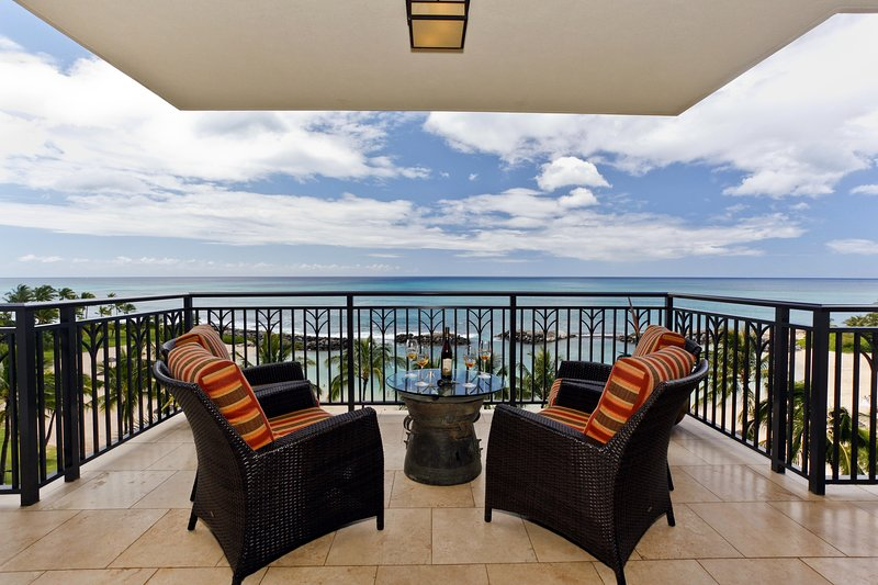 Direct Ocean Front Lanai - Beach Villas BT-610 - Kapolei - rentals