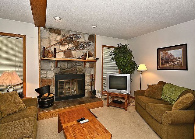 Living Room - Valley Haven, Chic 3 Bedroom Condo Located in the Heart of Canaan Valley, WV! - Davis - rentals