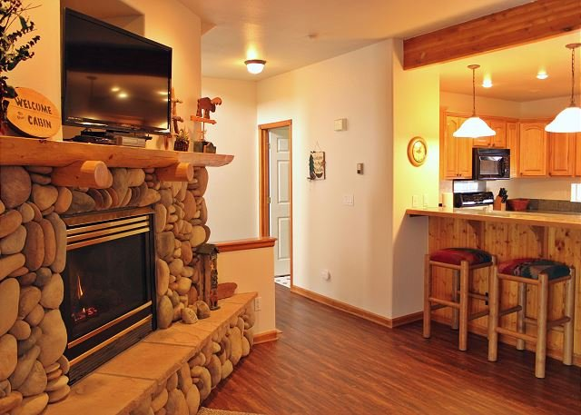 Amazing Townhouse with Fireplace, Common Hot Tub, and private Garage - Image 1 - Dillon - rentals