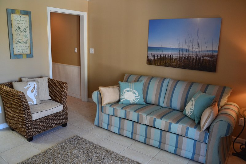 Coastal Living Area - 1 Bedroom Gulf View Condo - Stunning VIEW! - Summerspell - Miramar Beach - rentals