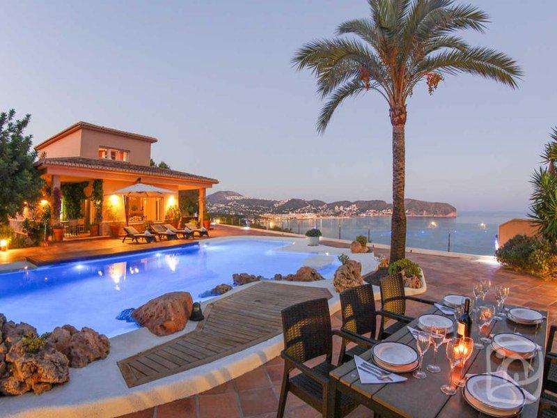 4 bedroom Villa in Moraira, Costa Blanca, Spain : ref 2031857 - Image 1 - La Llobella - rentals