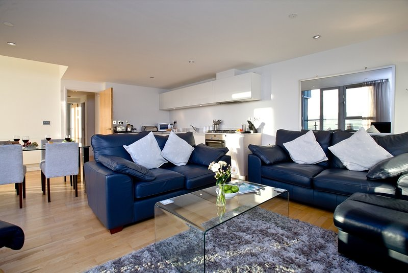 Fistral Penthouse, 52 Zinc located in Newquay, Cornwall - Image 1 - Newquay - rentals