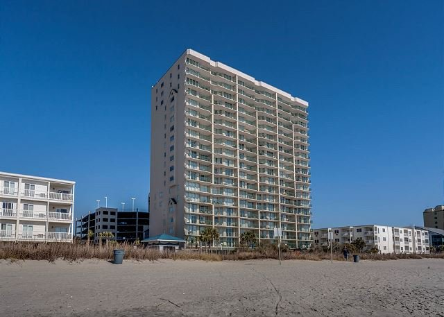 1st floor uniySpacious 4 bedroom, 3 bathroom, direct oceanfront condo - Image 1 - North Myrtle Beach - rentals