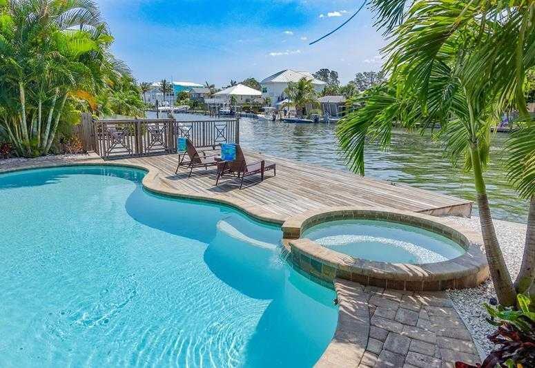 Pool 1 - CORAL CASTLE - Holmes Beach - rentals