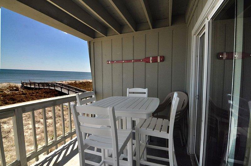 OCEANFRONT OUTSIDE LIVING - Sands IV 2C 2BR/2BA OCEANFRONT CONDO - Carolina Beach - rentals