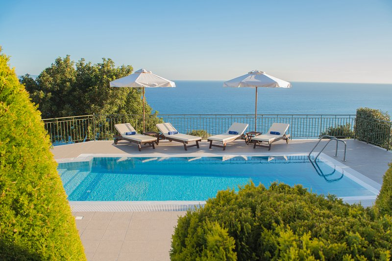 Villa Penelope Boundless Sea & Mountain Views - Image 1 - Lourdas - rentals