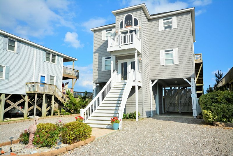 Street View of Home - A Windsong - North Topsail Beach - rentals