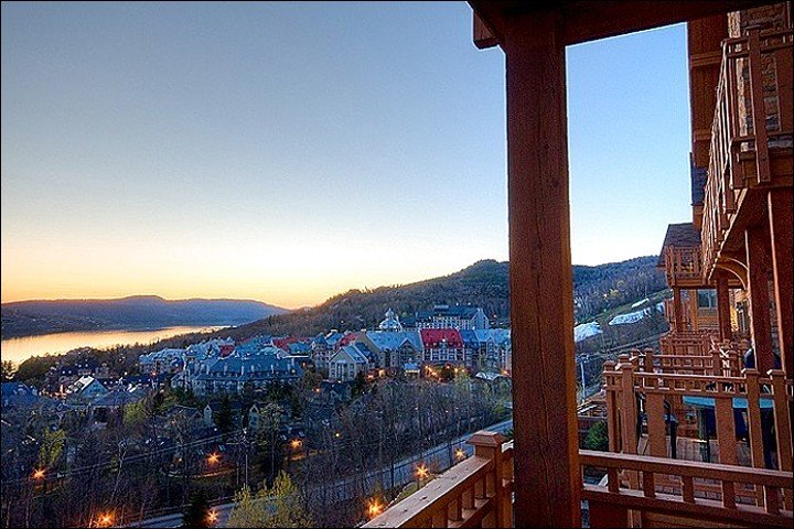 The Views from the Condo are Simply Breathtaking - Luxurious Decor and Furnishings - Common Area Hot Tub (6063) - Mont Tremblant - rentals