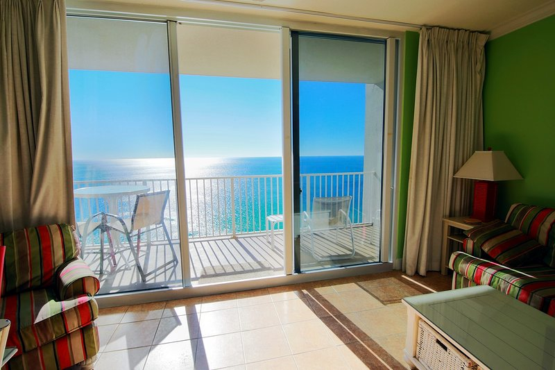 Yes, that can be YOUR vacation view! ))  - Oceanfront 2.5br/3ba/9p Lux Condo! Next To Pier Park! Awesome Views! - Panama City Beach - rentals