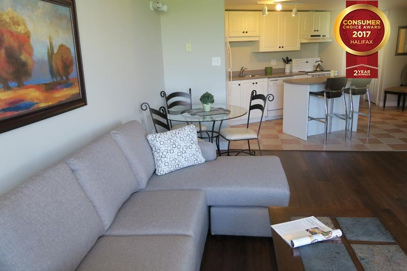 Living Area - Corner Suite on Citadel Hill - Halifax - rentals