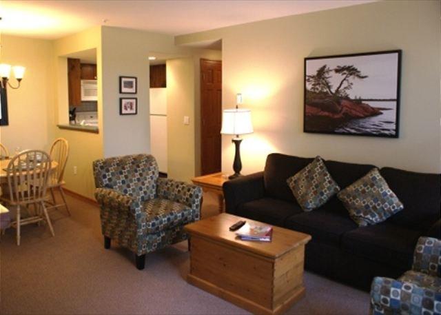 Living room - Stoney Creek Northstar 127 - 1 bedroom ground floor condo - Whistler - rentals