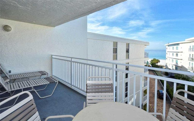 5th floor 2BR with private deck, beach view #506GS - Image 1 - Sarasota - rentals