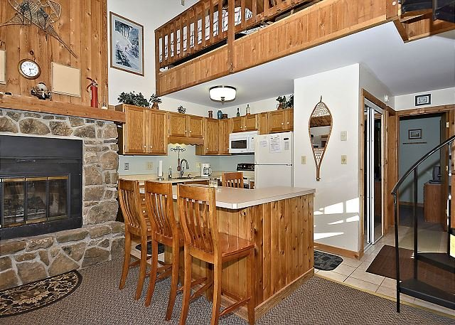 Kitchen - Northwoods C1 - Cozy 1 bedroom slope side condo awaits your arrival. - Spring Hill - rentals